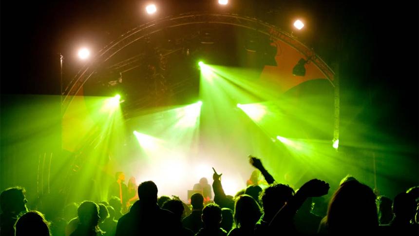 Timelapse Muziekfabriek (Main Stage)